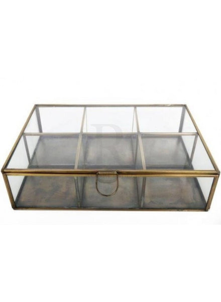 Large Vintage Brass Box