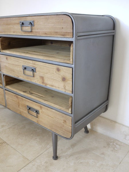 Retro Industrial Cabinet