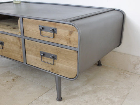 Retro Industrial Low Table