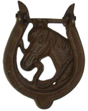 Cast Iron Horse Door Knocker