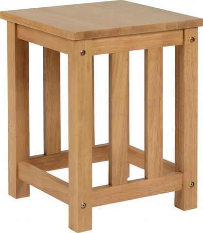 Richmond Stool in Oak Varnish