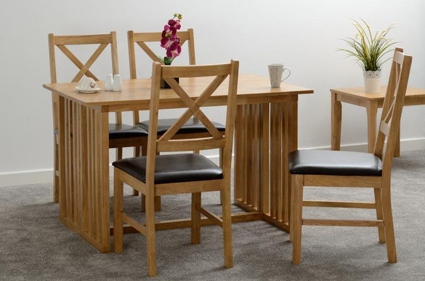 Mason Dining Chair in Oak Varnish