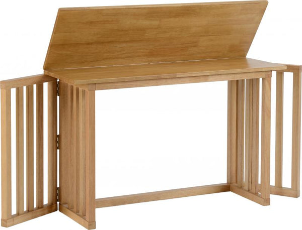Richmond Foldaway Dining Table in Oak Varnish