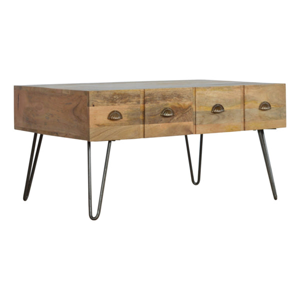 Four Drawer Coffee Table