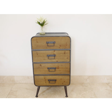 Large Retro Industrial Cabinet