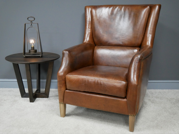 Reading Leather Chair