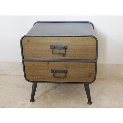 Retro Small Bedside Cabinet