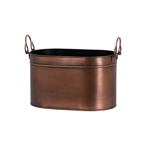 Copper Log Bucket