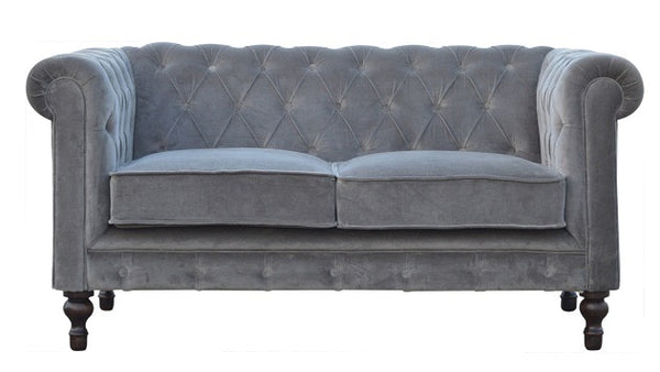 Velvet Chesterfield