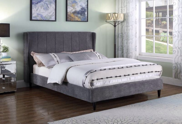 "5"" Grey Fabric Bed"