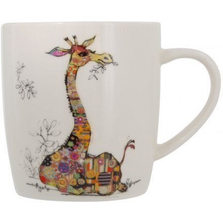 Bug Art Binky Giraffe China Mug Kooks
