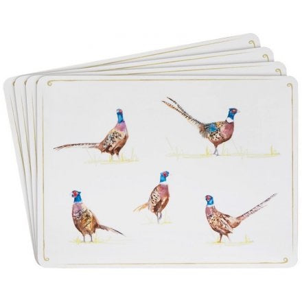 Pheasant Place Mats set of 4