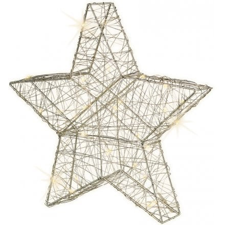 Silver Standing Star