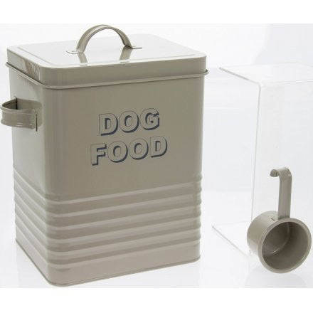 Dog Food Enamel Tin