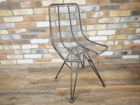 Industrial Retro legged Chair