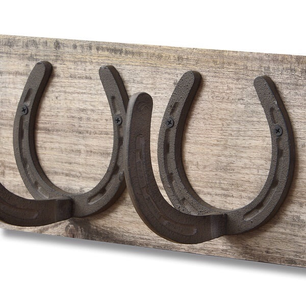 Horse Shoe Coat Rack