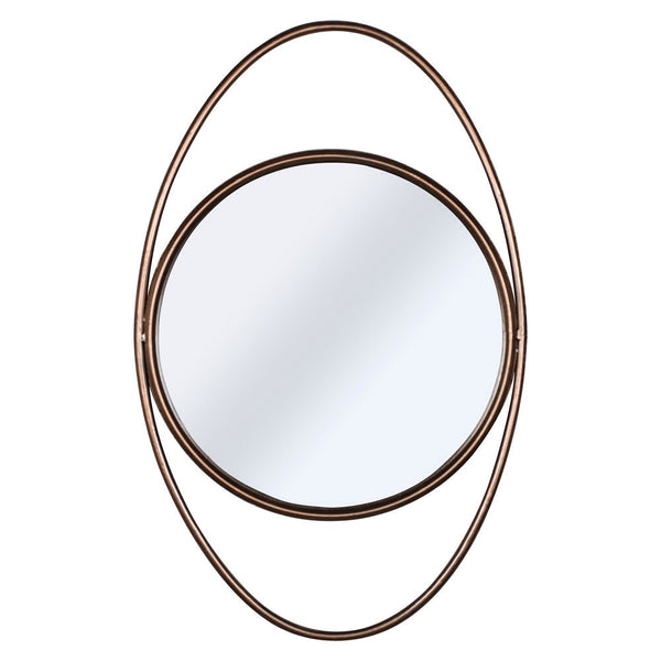 Oval Bronze Mirror