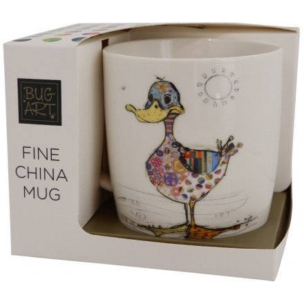 Dotty Duck Fine China Mug