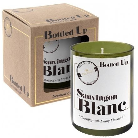 Recycled Sauvignon Blanc Candle