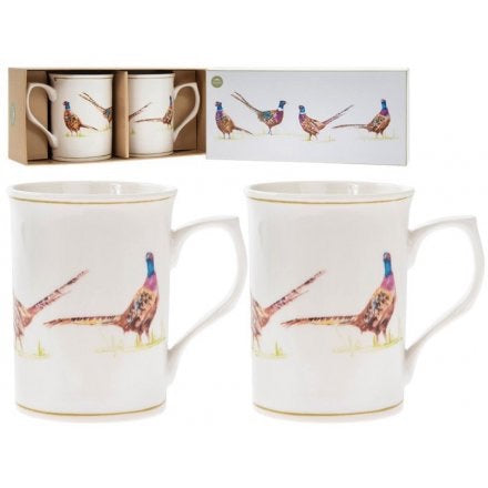 Set of Pheasant Mugs