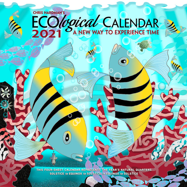 2021 ECOlogical Wall Calendar SOLD OUT (see Commemorative Package)