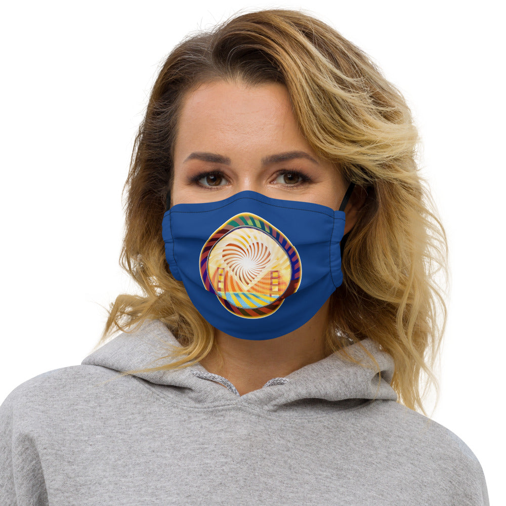Premium face mask, The Heart of San Francisco
