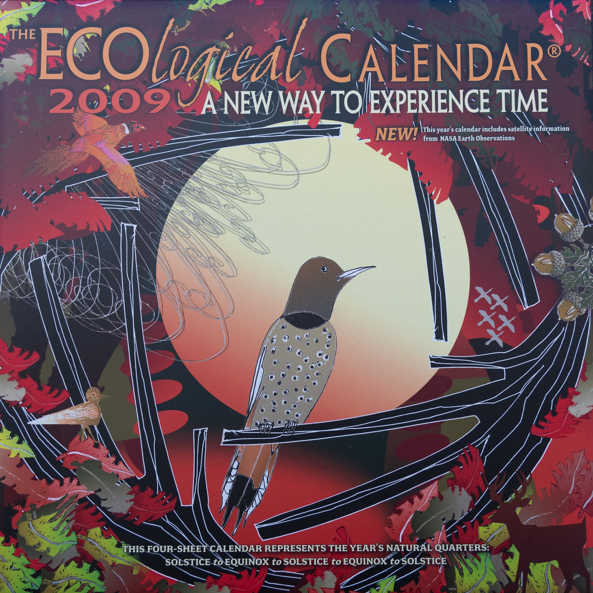 Complete set of All ECOlogical Calendars 2005 -2021, FREE SHIPPING ON SET