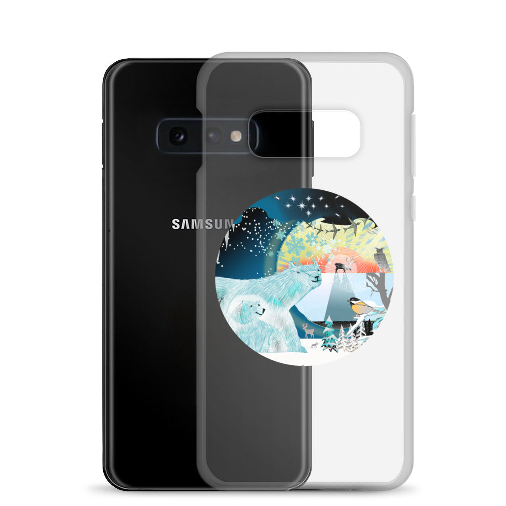 Samsung Case, Winter Polar Bear