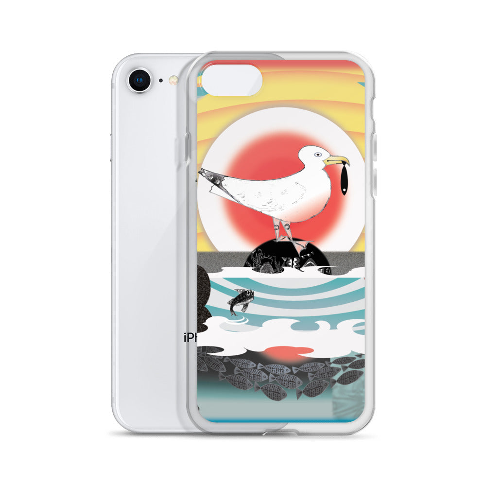 iPhone Case, Summer Seagull