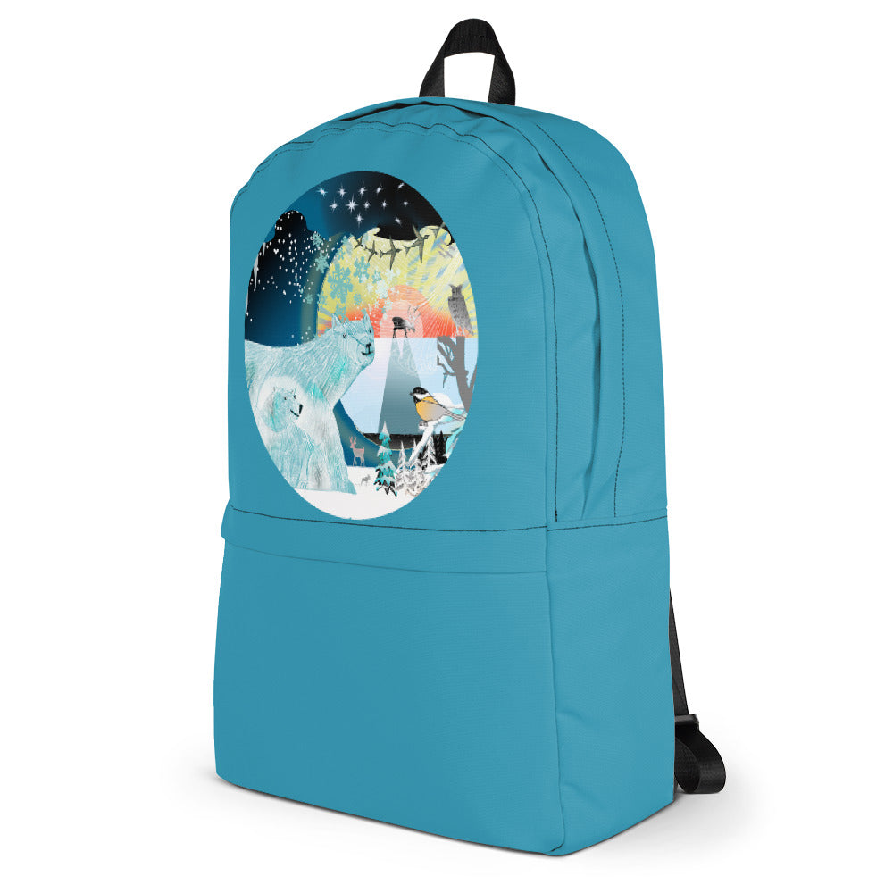 Backpack, Winter Polar Bear