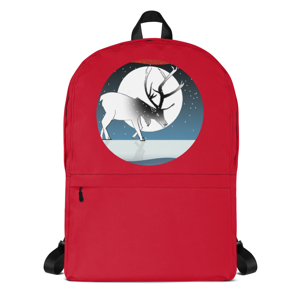 Backpack, Winter Deer