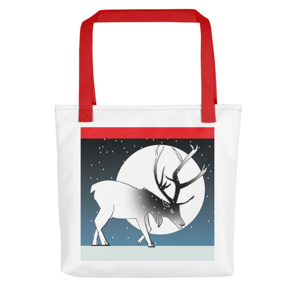 Tote bag, Winter Deer