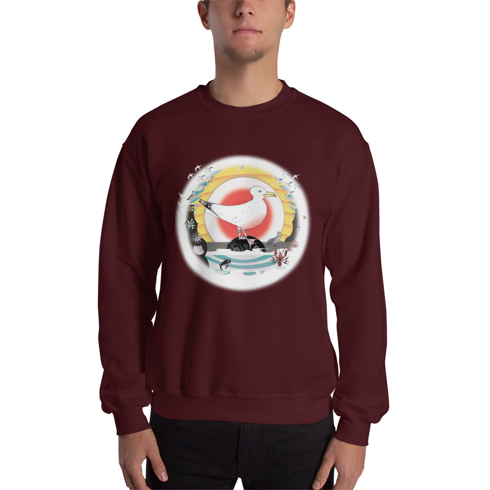 Sweatshirt, Summer Gull