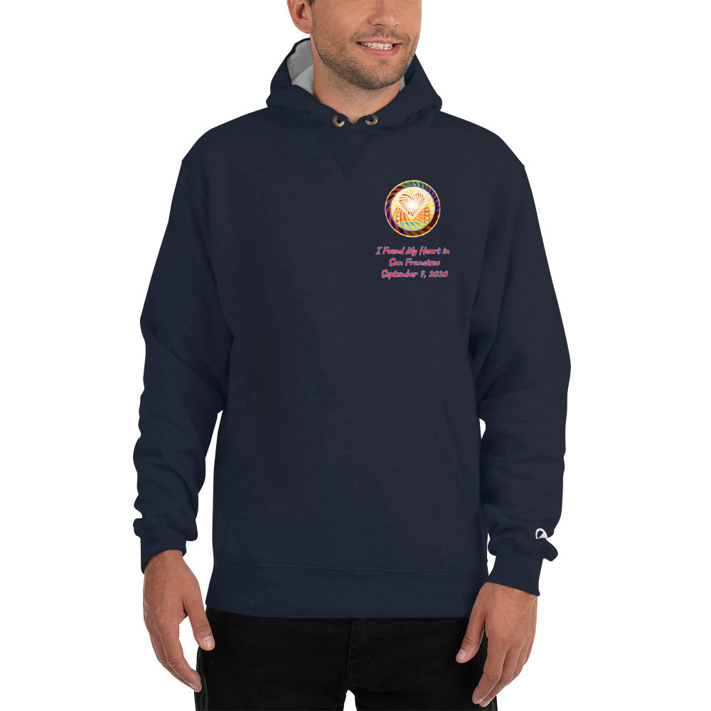 Champion Hoodie, The Heart Of San Francisco