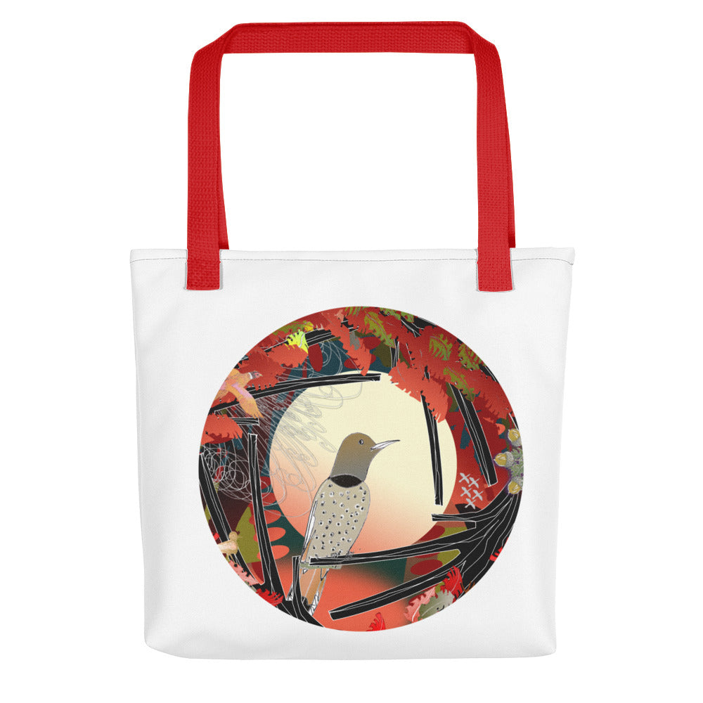 Tote bag, Autumn Bird Northern Flicker