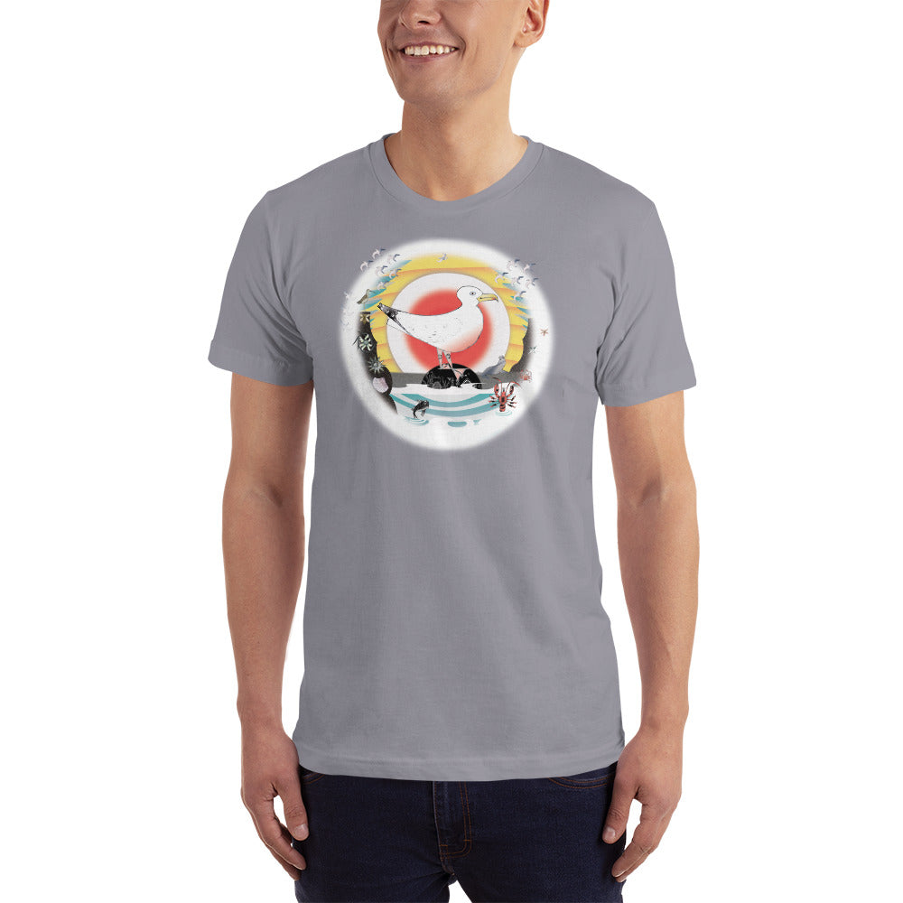 T-Shirt, Summer Seagull