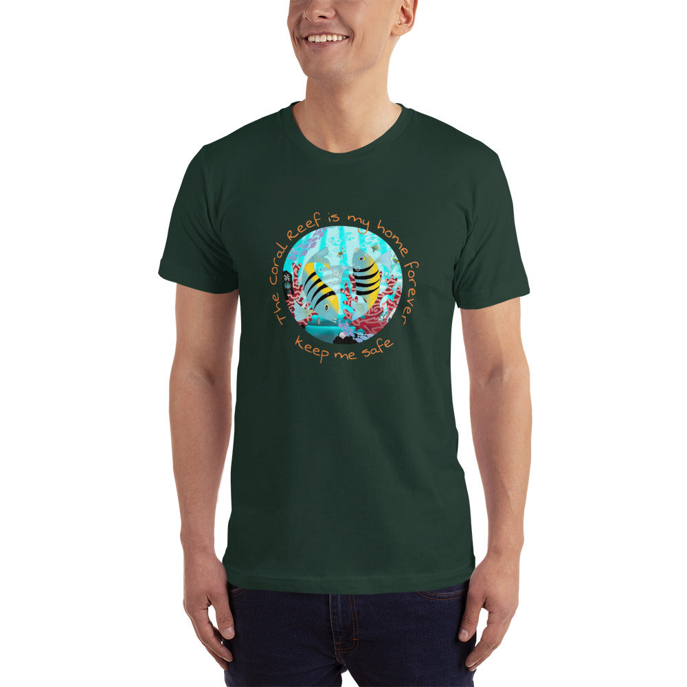 T-Shirt unisex, Coral Reef Fish