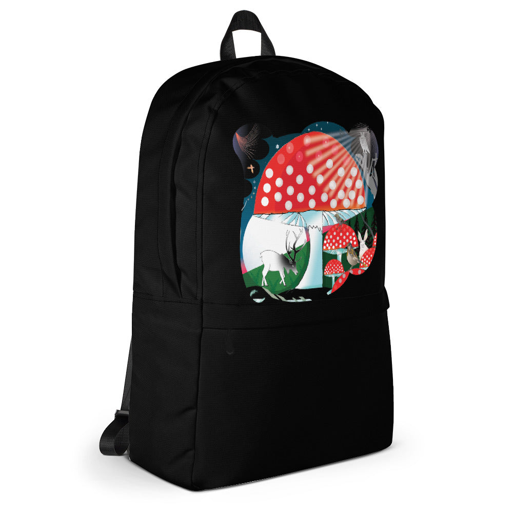 Backpack, Winter Mushroom