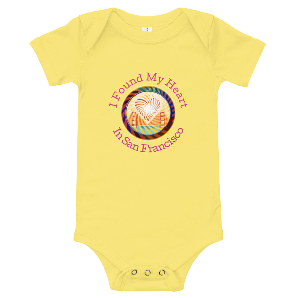 T-Shirt Baby Onesie,  The Heart of San Francisco