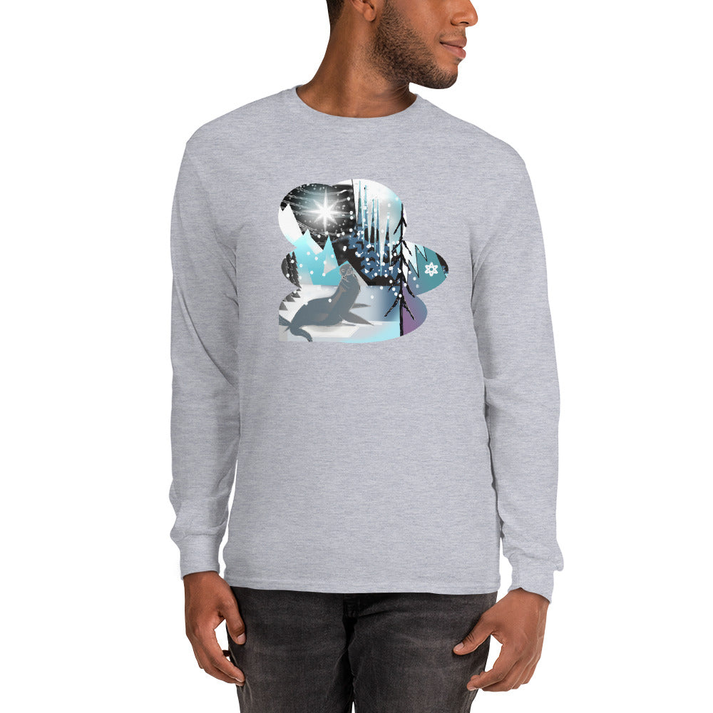 Long Sleeve T-Shirt, Winter Seal