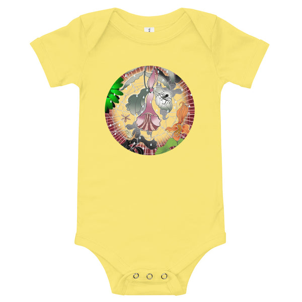 T-Shirt baby onesie, Summer Spider