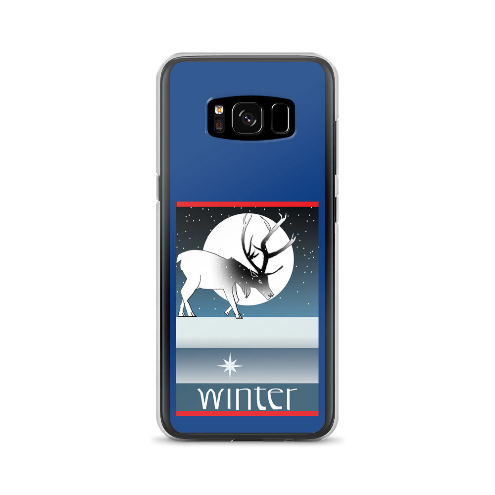 Samsung Case, Winter Deer