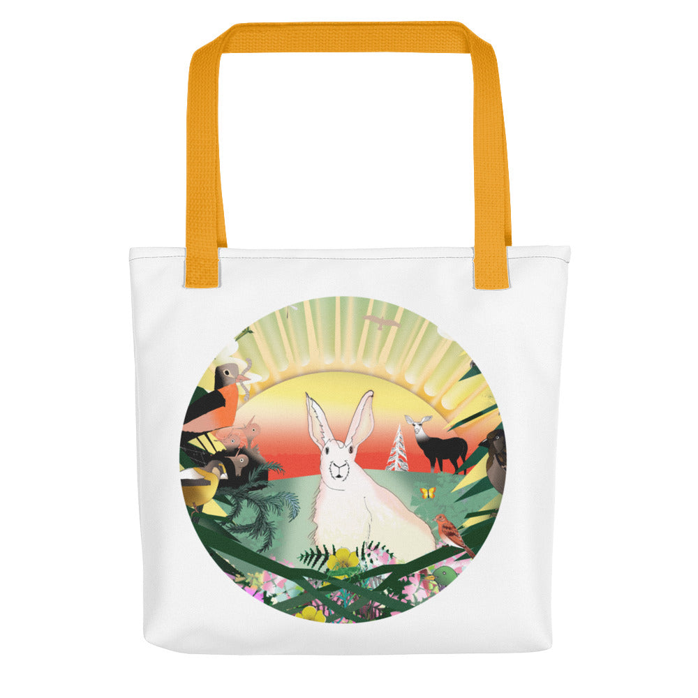 Tote bag, Spring Rabbit