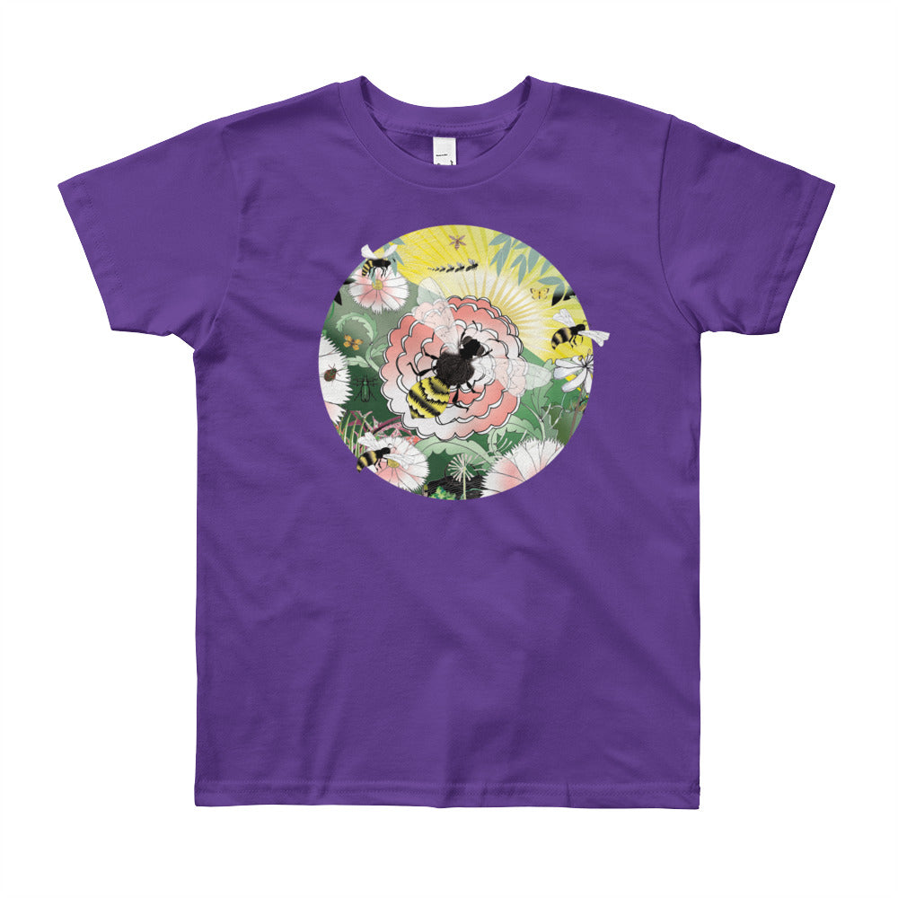Youth Short Sleeve T-Shirt, Spring Bee