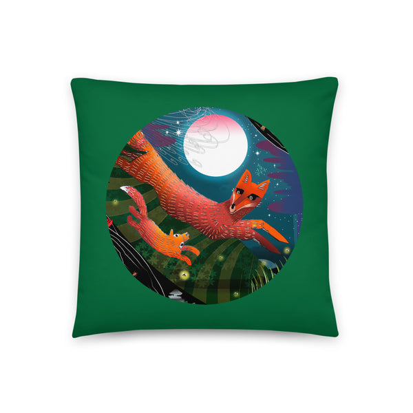 Basic Pillow, Fall Fox