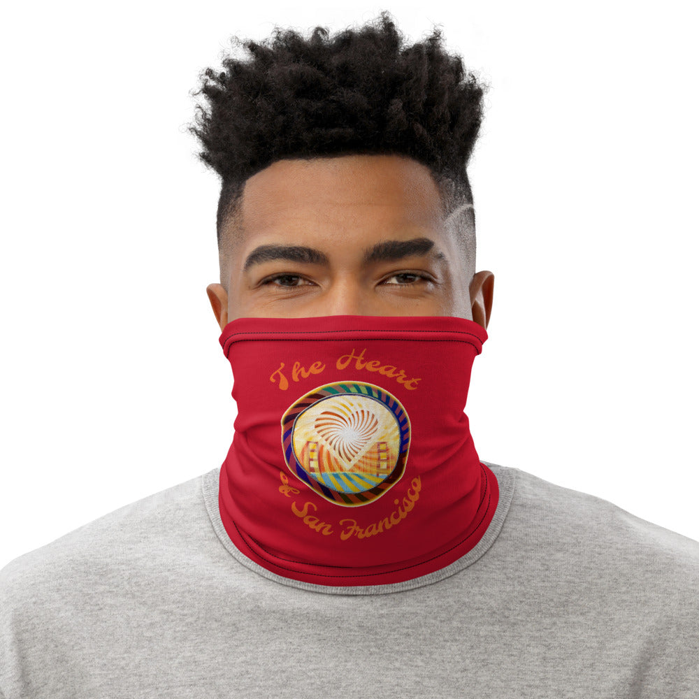 Neck Gaiter, The Heart of San Francisco