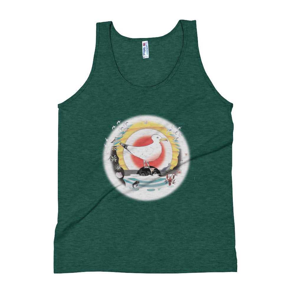 Unisex Tank Top,  Summer Gull