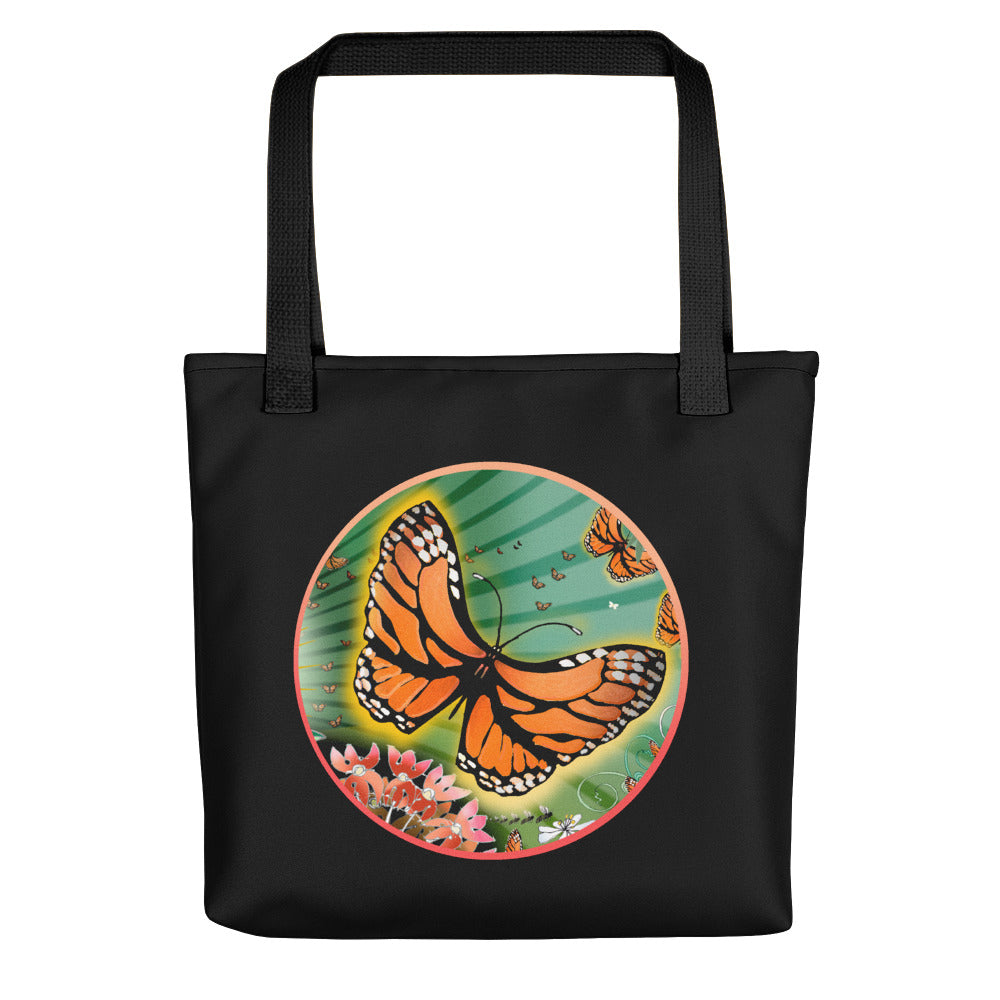 Tote bag, Monarch