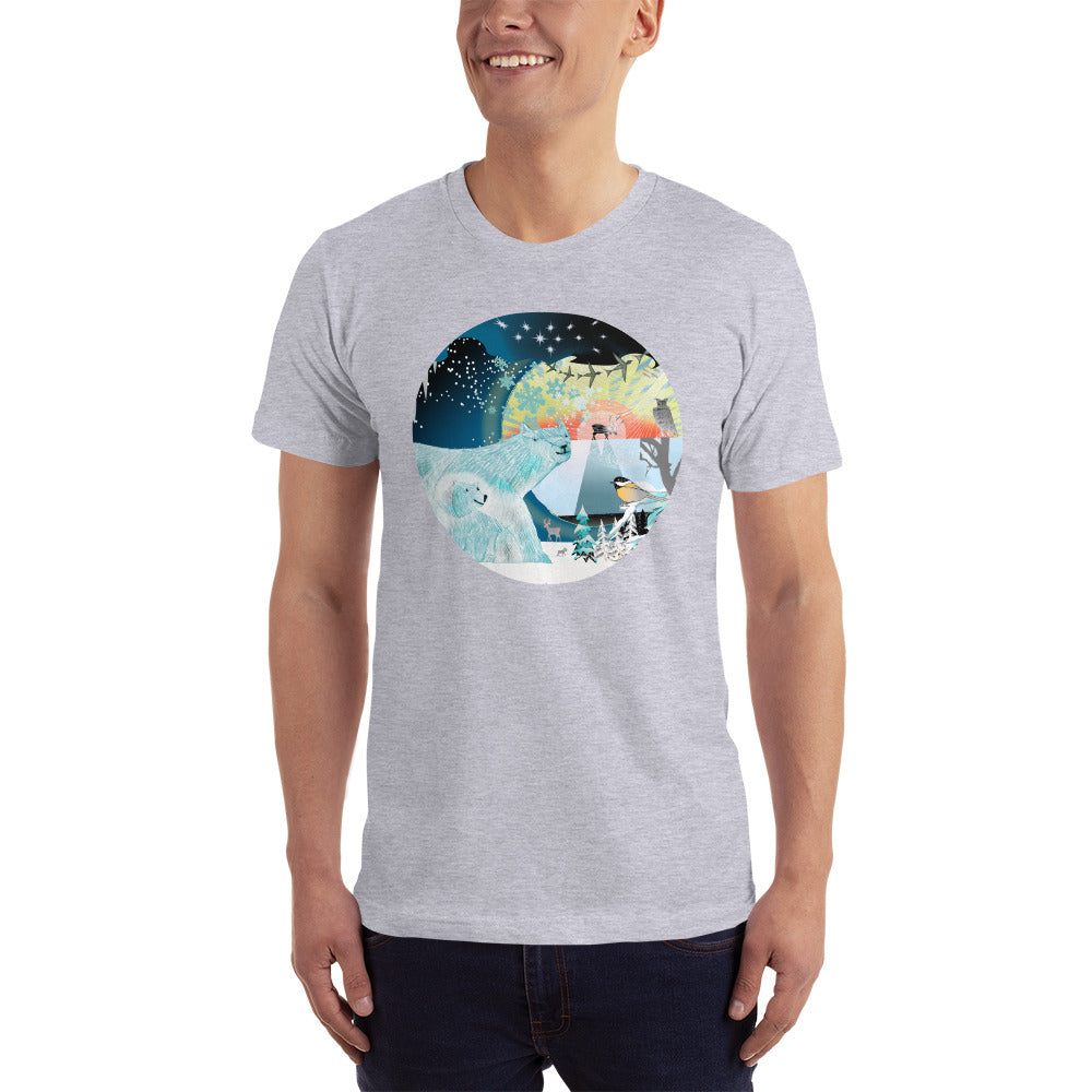 T-Shirt, Winter Polar Bear