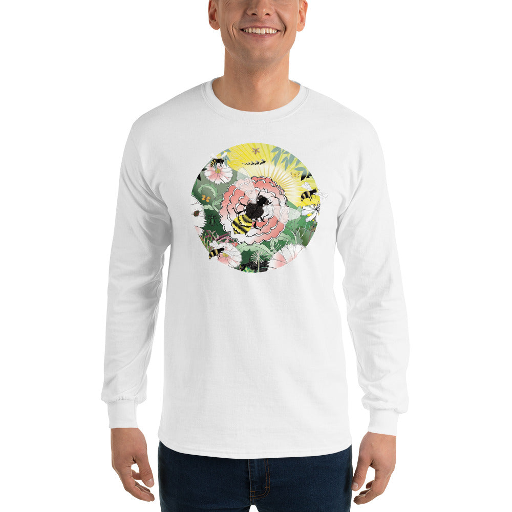 Long Sleeve T-Shirt, Spring Bee
